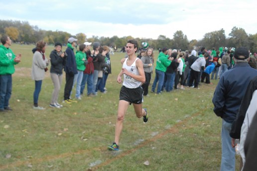 Fenwick senior Sal Flight, from Riverside, finished second in the state with a time of 4 minutes, 15.96 seconds at the Class 2A state finals. (File photo)