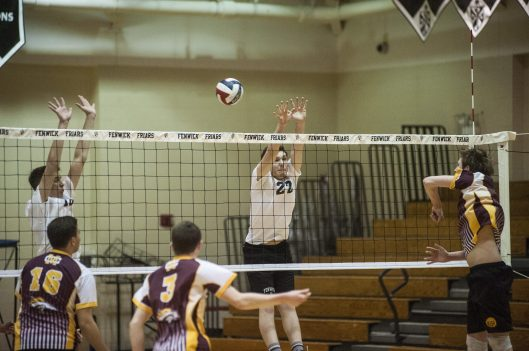 Fenwick senior setter Pat Kenny had 194 kills and 209 digs as an all-conference player last season. (William Camargo/Staff Photographer)
