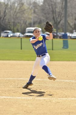 RBHS junior Alivia Ranieri, the team's No. 1 pitcher, has thrown a team-high 54 innings. (Submitted photo)