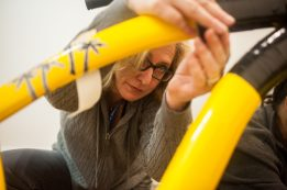 Jen Kryzcka an instructor at the Riverside Arts Center. | William Camargo/Staff Photographer