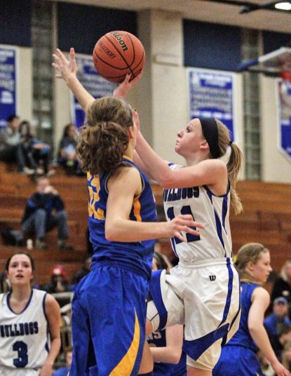 Senior guard Samantha Bloom is the Bulldogs' top scorer and plays with a lot of determination and toughness. (File photo)