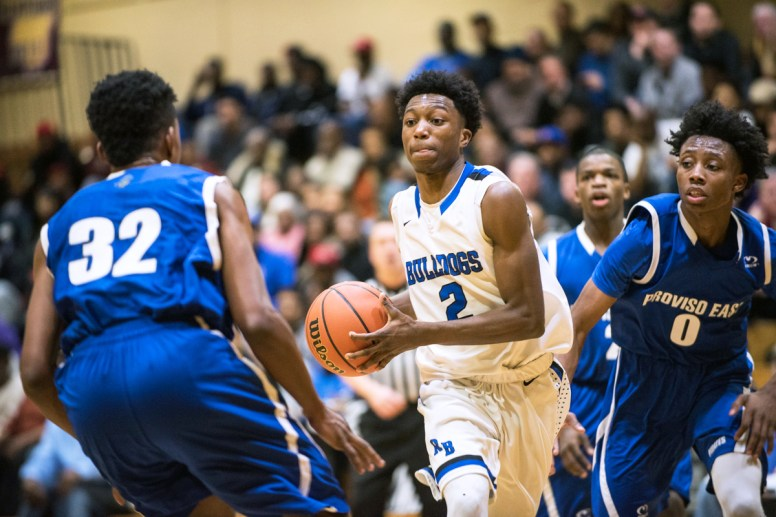 RBHS senior Jalen Clanton is one of the premier guards in the Chicago area. He's a three-year varsity starter with substantial postseason experience. (File photo)