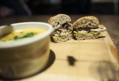 A specialty sandwich at Sawmilly. | William Camargo/Staff Photographer