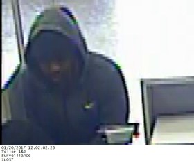 Brookfield police released this image of the man suspected of robbing Citibank, 9009 Ogden Ave., on Jan. 20.