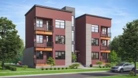 Rendering of the Signature Apartments. | Provided