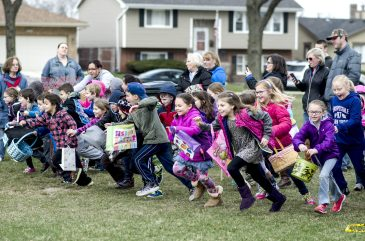 Looking to take the kids to an Easter egg hunt in the area this weekend? Then you're in luck, because there are two events taking place on Saturday, April 15.   William Camargo/Staff Photographer