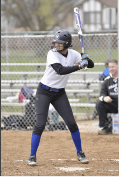 Kailyn Ngo is an excellent hitter with speed and softball instincts. She returns next season as one of the Bulldogs' best players. (Photo by Toan Ngo)