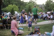 People enjoy ARRA classic rock band during the first concerts of the summer at Kiwanis Park in Brookfield on June 23. | William Camargo/Staff Photographer