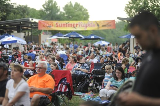 Hundreds of people came out to see country superstar Keith Anderson play during Brookfield Zoo's Summer Nights concert on Friday, June 30. | William Camargo/Staff Photographer