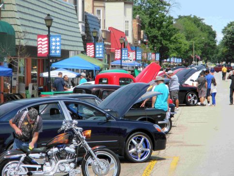 On Sunday, July 16 head to the 3700 block of Grand Boulevard in Brookfield for the Brookfield Chamber of Commerce's Classic Car and Bike Show from 9 a.m. to 4 p.m. | Courtesy of Showcase Classics