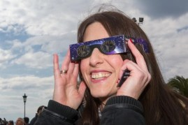 LaGrange will mark the solar eclipse with a watch party for all ages in front of the LaGrange Village Hall, 53 S. LaGrange Road, from noon to 2 p.m. on Monday, Aug. 21.