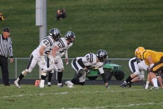 Fenwick sophomore, Jacob Kaminski, had a breakout debut last season. The standout defensive end had 7.5 sacks and 35 tackles (5 for loss) in 13 games. (Marie Lillig/Contributing photographer)