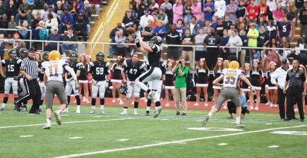 Fenwick senior wide receiver Michael O'Laughlin is one of the best players in the state. The West Virginia commit caught 54 passes for 939 yards and eight touchdowns last season. (Submitted photo)