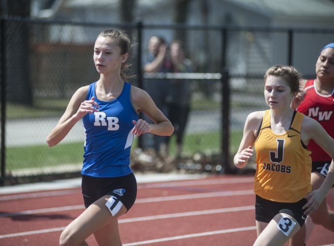 RBHS senior Hailey Jurgens led the Bulldogs with a time of 20:03.8 to place eighth at the RB Invitational. (File photo)