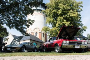 Riverside waves goodbye to summer with its season-ending Car and Bike Show on Sunday, Sept. 24 from 9 a.m. to 5 p.m. on both sides of the tracks in Centennial and Guthrie parks in downtown Riverside.