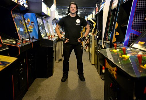 Galloping Ghost Arcade owner Doc Mack has built a video game empire, which is still growing, and it all started when he was a teenager with a dream to produce his own game. | Alexa Rogals/Staff Photographer