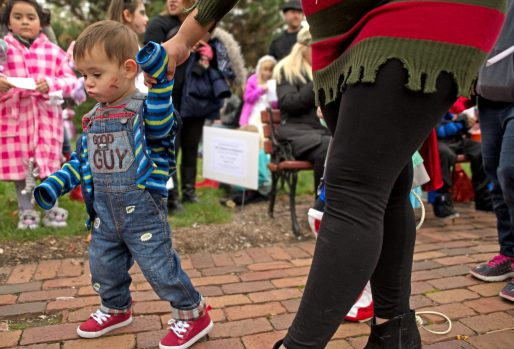 Kids and adults flocked to downtown Brookfield on Oct. 28, for the annual Monsters on Mainstreet trick-or-treating and costume contest event. | Alexa Rogals/Staff Photographer
