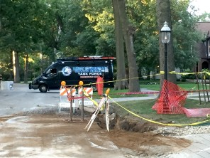 Archaeologists from the Army Corps of Engineers uncovered remains from a Riverside work site where human bones were discovered on Sept. 14. All of the remains were turned to the Cook County Medical Examiner for testing. | Bob Uphues/Editor