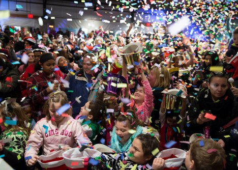 Families are invited to get a jump on celebrating the New Year at Brookfield Zoo's annual Zoo Year's Eve celebration on Sunday, Dec. 31.