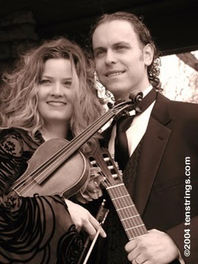 Enjoy classical guitarist Jason Deroche and violinist Sherri Framborg Deroche - also known as Ten Strings - in a concert that fuses Old World tradition with an understanding of pop culture on Saturday, Jan. 13 at 7:15 p.m. in Dole Hall at Plymouth Place, 315 N. LaGrange Road in LaGrange Park.
