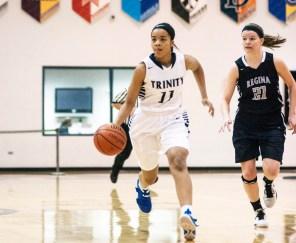 Trinity senior guard Lauren Lee has led the Blazers this year. She will play college basketball at the University of California, Santa Barbara next season. (File photo)