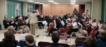 The Senior Suburban Orchestra will host its 7th Annual Family and Friends Concert on Saturday, May 12 at 1 p.m. at Immanuel Lutheran Church, 5211 Carpenter St. in Downers Grove.