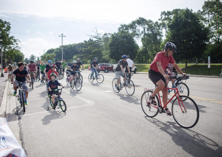 Celebrate the great outdoors and the village's 125th birthday with hundreds of other well-wishers at the third annual Bike Brookfield 10K cycling tour through the heart of Brookfield on Saturday, May 19.