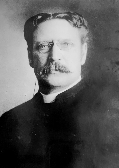Rev. Robert Cooper, who was rector of St. Paul's Church in Riverside from 1908-27, was the father of the Rev. Hedley Heber Cooper.   Courtesy of St. Paul's Church