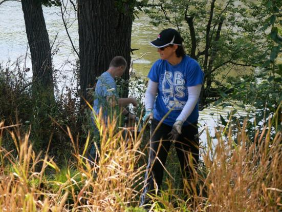 The Frederick Law Olmsted Society will host its next Landscape Workday on Saturday, June 30 from 9 a.m. to noon at Big Ball Park, Delaplaine and Longcommon roads. Volunteers will be mulching.