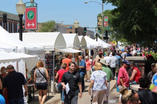 The LaGrange Business Association and the village of LaGrange will host the 44th Annual LaGrange Craft Fair, featuring nearly 200 artisans from throughout the Midwest on Saturday, July 14 from 9 a.m. to 6 p.m. and Sunday, July 15 from 10 a.m. to 5 p.m. in downtown LaGrange.