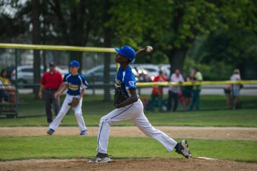 Mesfin Duwell anchored a very solid pitching staff for the Brookfield Nationals. (Alexa Rogals/Staff Photographer)