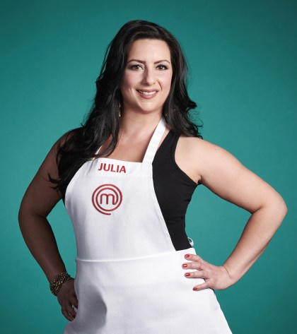 """Julia Danno, who grew up in North Riverside, has cooked for family all her life. Now she finds herself trying to impress celebrity chef Gordon Ramsay as a contestant on the TV show """"MasterChef."""" 
