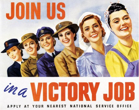 """Riverside Public Library, 1 Burling Road, invites the public to join Barb Warner Deane for her presentation """"Women of World War II: On the Front Lines and the Home Front"""" on Wednesday, Feb. 6 at 7 p.m. in the Public Meeting Room."""