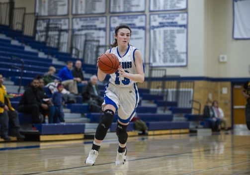 RBHS sophomore forward Brenna Loftus is an excellent scorer and playmaker for the Bulldogs. (Alexa Rogals/Staff Photographer)