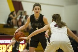 Fenwick sophomore Lauren Hall is one of many very talented underclassmen on the Friars' roster. (Alexa Rogals/Staff Photographer)