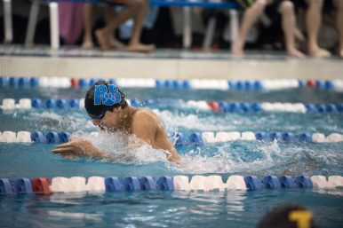RBHS senior Michael Rosa qualified for state in two events, the 200-yard IM (1:56.22) and the 100-yard breaststroke (57.24). (File photo)