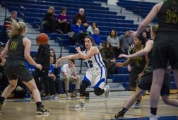 RBHS senior guard Mary Maloney directed the offense well this season with her passing ability and ballhandling skills. (Alexa Rogals/Staff Photographer)