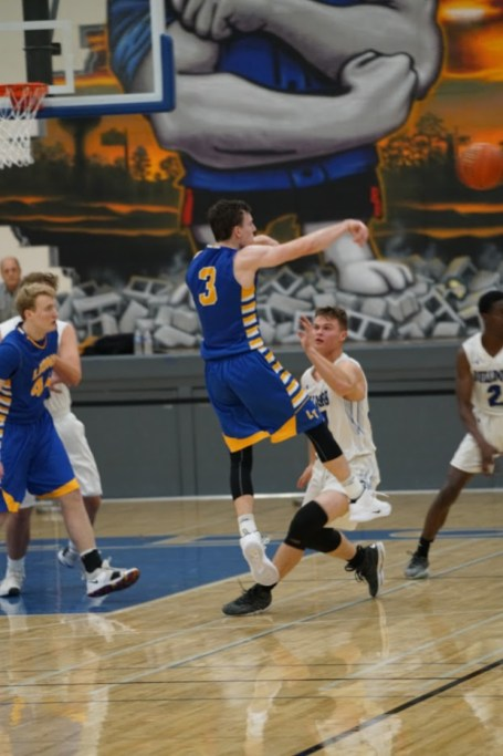 LTHS senior guard Nolan Niego played well this season as the Lions placed third in conference and won a regional title. (Photo by Carol Dunning)