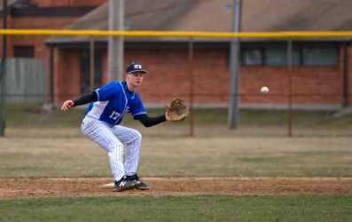 RBHS senior Ryan Cermak is one of the best all-around baseball players in the area. He's an elite pitcher and hard-hitting infielder poised to lead the Bulldogs this spring. (File photo)