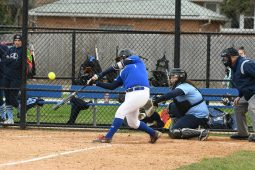 Isabella Garcia takes a full cut for the Bulldogs. She's posting good stats at 5 homers and 21 RBIs to go woth a .390 batting average. (Photo by Toan Ngo)