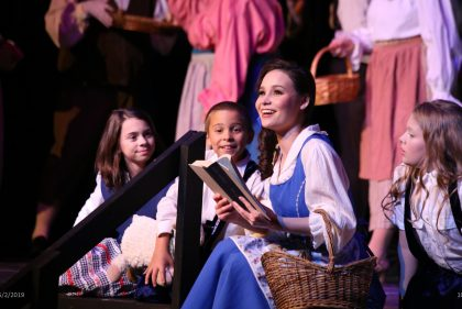 """North Riverside Players present their spring musical """"Beauty and the Beast"""" on May 9-11 in the gymnasium of the North Riverside Village Commons, 2401 Desplaines Ave."""