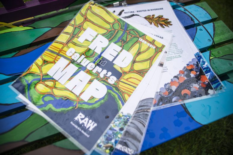 """This year's """"spectacle"""" accompanying Riverside Arts Weekend is a whimsical book celebrating Olmsted and Vaux's General Plan of Riverside, which turns 150 years old in 2019. 