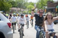 Bike Brookfield -- which incorporates a kids' bike rodeo, a brief bicycle jaunt for kids in the Hollywood section of the village and a 10K tour of the village and beyond for adults - will bring hundreds of bicyclists to the village.