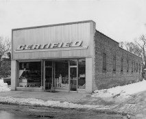 The grocery store at 28 E. Burlington St. at the time.
