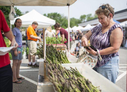 Farmers markets are back.