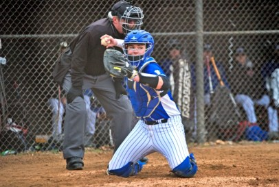 RBHS catcher Mike Schicker .370 with three home runs and 30 RBIs, a .449 on-base percentage and .999 on-base plus slugging last season. (File photo)