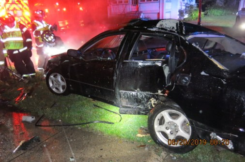 Chicago resident Brandon Cerero, 20, was killed when a 1998 Lexus allegedly driven by Carlos Arambula spun out of control and struck a tree in the 100 block of East Burlington Street in Riverside just after midnight on June 20. (Photo courtesy of the Riverside Police Department)