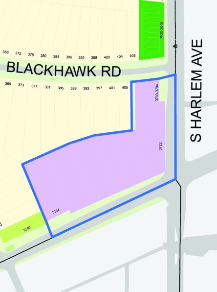 In the works? Riverside officials are considering creating new business districts along Harlem Avenue - from Addison to Lawton and at Harlem and Ogden - which would allow the imposition of a 1-percent sales tax to fund infrastructure improvements, property acquisition and incentives to help spur commercial redevelopment in those areas.