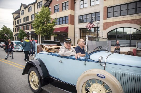Riverside Garage hosts its final Cruise Night of the summer on East Burlington Street on Aug. 15.