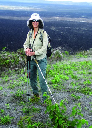 Georgia Velisaris traveled to the Galapagos Islands in 2014. The trip resulted in photos and other artwork that will be part of an exhibit at the Brookfield Library through December. (Photo provided)